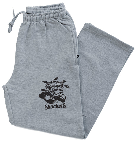 Wichita State Shockers Premium Fleece Sweatpants - WuShock Logo