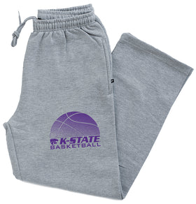 K-State Wildcats Premium Fleece Sweatpants - K-State Basketball