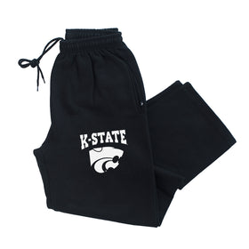 K-State Wildcats Premium Fleece Sweatpants - K-State Powercat