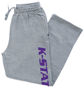 K-State Wildcats Premium Fleece Sweatpants - K-State Vertical