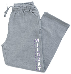 K-State Wildcats Premium Fleece Sweatpants - Vertical KSU Wildcats