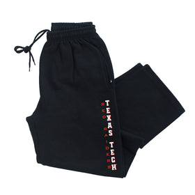 Texas Tech Red Raiders Premium Fleece Sweatpants - Vertical Texas Tech
