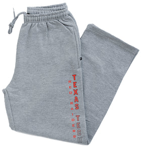 Texas Tech Red Raiders Premium Fleece Sweatpants - Vertical Texas Tech Fade
