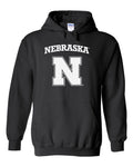 Nebraska Cornhuskers Block N Hooded Sweatshirt