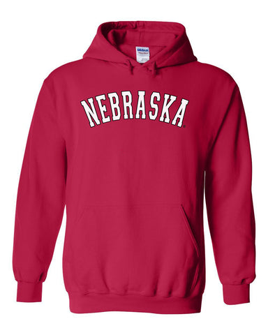 """NEBRASKA"" Arch Hooded Sweatshirt"