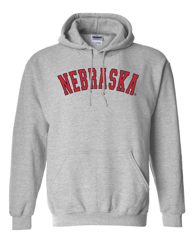 NEBRASKA Arch Hooded Sweatshirt