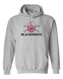 Nebraska Huskers Hooded Sweatshirt - Blackshirts Logo