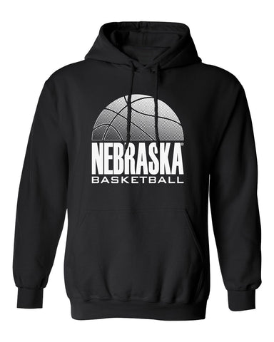 Nebraska Huskers Hooded Sweatshirt - Nebraska Basketball