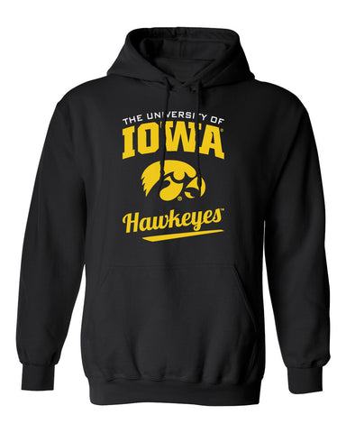 Iowa Hawkeyes Hooded Sweatshirt - The University Of Iowa Script Hawkeyes
