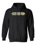 Iowa Hawkeyes Hooded Sweatshirt - Hawkeyes Horizontal Stripe