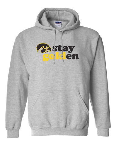 Iowa Hawkeyes Hooded Sweatshirt - Stay Golden