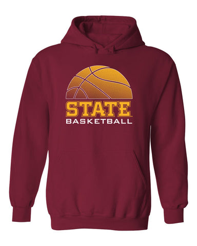 Iowa State Cyclones Hooded Sweatshirt - ISU Basketball