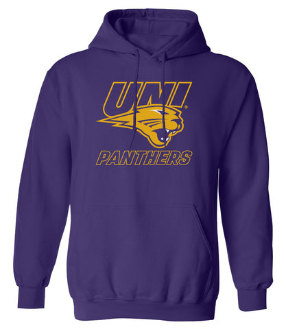 Northern Iowa Panthers Hooded Sweatshirt - UNI Power Logo