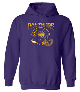 Northern Iowa Panthers Hooded Sweatshirt - UNI Football Helmet