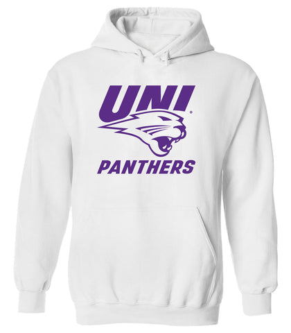 Northern Iowa Panthers Hooded Sweatshirt - UNI Panthers Logo