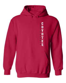 South Dakota Coyotes Hooded Sweatshirt - Vertical USD Coyotes