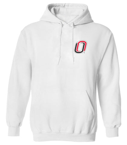 Omaha Mavericks Hooded Sweatshirt - Trademarked O Logo