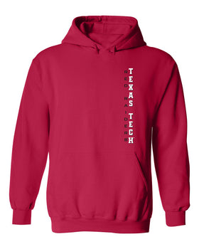 Texas Tech Red Raiders Hooded Sweatshirt - Vertical Texas Tech