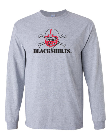 Nebraska Huskers Long Sleeve Tee Shirt - Blackshirts Logo