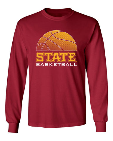 Iowa State Cyclones Long Sleeve Tee Shirt - ISU Basketball
