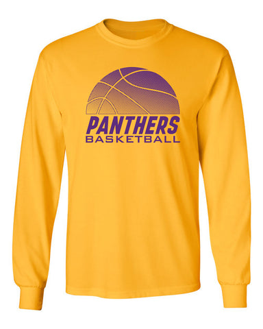 Northern Iowa Panthers Long Sleeve Tee Shirt - Panthers Basketball