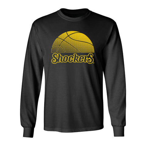 Wichita State Shockers Long Sleeve Tee Shirt - WSU Shockers Basketball