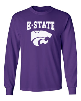 K-State Wildcats Long Sleeve Tee Shirt - K-State Powercat