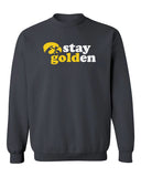 Iowa Hawkeyes Crewneck Sweatshirt - Hawkeyes Stay Golden