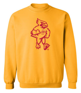 Iowa State Cyclones Crewneck Sweatshirt - Mascot Cy Full Body