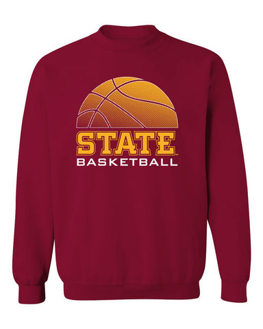 Iowa State Cyclones Crewneck Sweatshirt - ISU Basketball