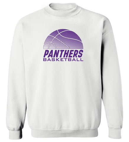 Northern Iowa Panthers Crewneck Sweatshirt - UNI Panthers Basketball