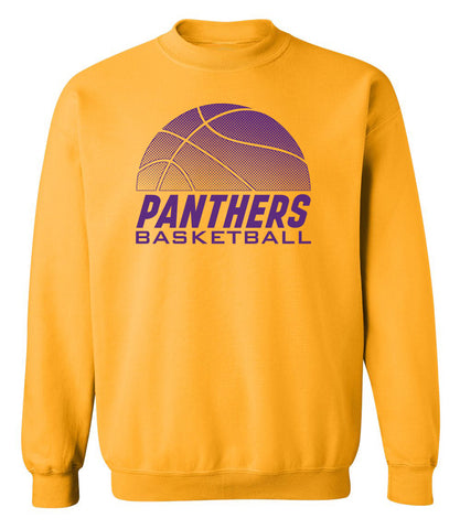 Northern Iowa Panthers Crewneck Sweatshirt - Panthers Basketball