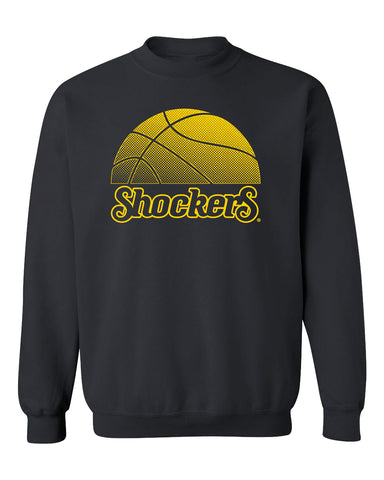 Wichita State Shockers Crewneck Sweatshirt - WSU Shockers Basketball