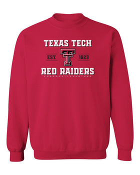 Texas Tech Red Raiders Crewneck Sweatshirt - Red Raiders Est 1923