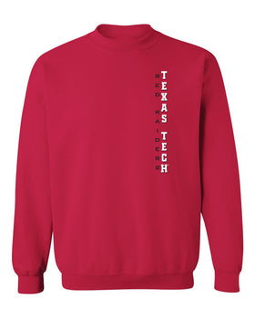 Texas Tech Red Raiders Crewneck Sweatshirt - Vertical Texas Tech