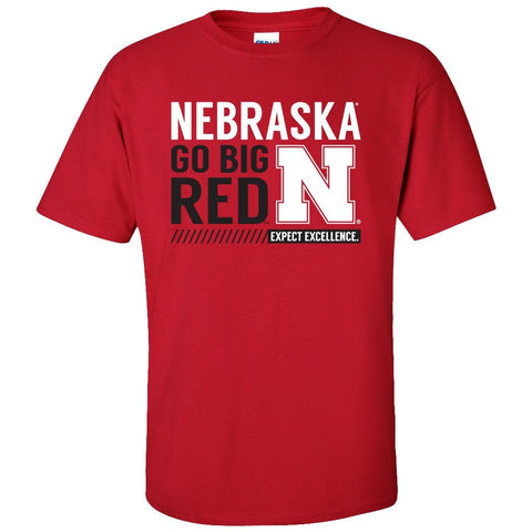 "Nebraska Cornhuskers ""Expect Excellence"" Tee Shirt"