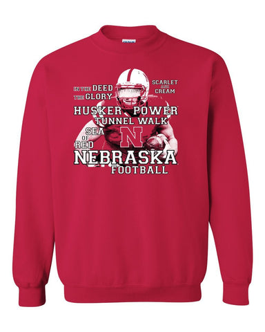 Nebraska Cornhuskers Football Traditions Crewneck Sweatshirt
