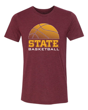 Iowa State Cyclones Premium Tri-Blend Tee Shirt - ISU Basketball