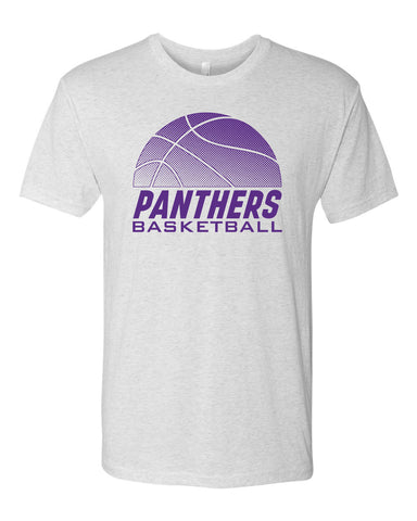 Northern Iowa Panthers Premium Tri-Blend Tee Shirt - Panthers Basketball