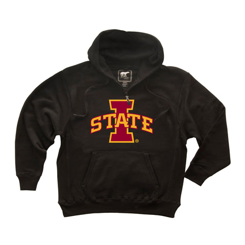 Iowa State Cyclones Premium Fleece Hoodie - I-STATE Primary Logo