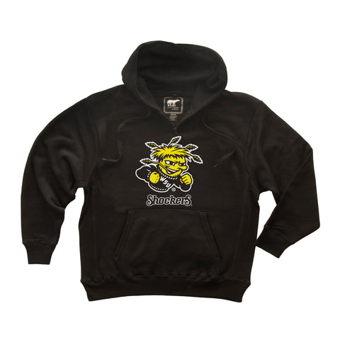 Wichita State Shockers Premium Fleece Hoodie - Wu Shock Shockers