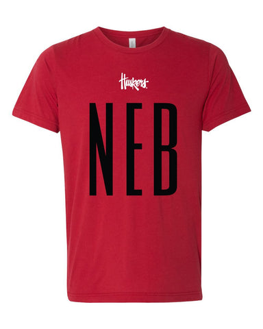 NEB STATE HUSKERS TEE - GAMEDAY SHIRT