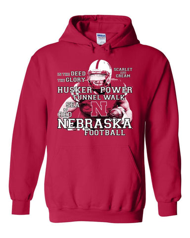 Nebraska Cornhuskers Football Traditions Hooded Sweatshirt
