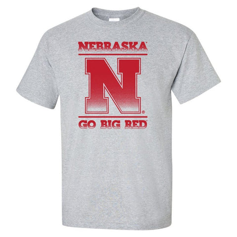 "Nebraska Cornhuskers ""Nebraska N GO BIG RED"" Tee Shirt"