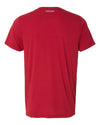 Nebraska Husker Tee Shirt Premium Tri-Blend - Star N GO BIG RED