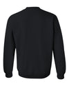 Iowa Hawkeyes Crewneck Sweatshirt - IOWA Hawkeyes Vertical Stripe with Tigerhawk