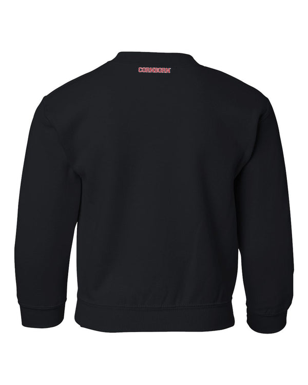 1995 Nebraska Huskers G.O.A.T. (Greatest of all Time) Youth Crewneck Sweatshirt