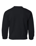 Iowa Hawkeyes Youth Crewneck Sweatshirt - Arched IOWA with Tigerhawk Oval