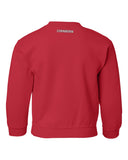 Nebraska Volleyball 5-Time National Champions Youth Crewneck Sweatshirt