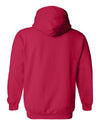 Nebraska Husker Sweatshirt Hooded - Star Huskers GO BIG RED